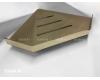 Boheme New Venturo 10318-G Полка угловая настенная (Золото)