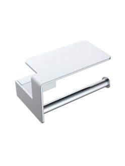 Boheme Q 10941-CR Держатель для туалетной бумаги с полкой (Хром)