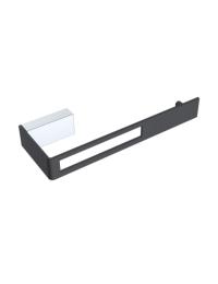 Boheme Q 10945-CR-B Держатель для туалетной бумаги, хром/черный