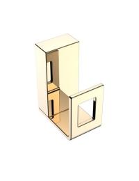 Boheme Q 10946-G Крючок, золото