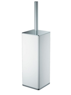 Boheme 10949-W-CR Ершик напольный (Белый/хром)