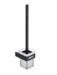 Boheme Q 10954-CR-B Ершик настенный, хром/черный