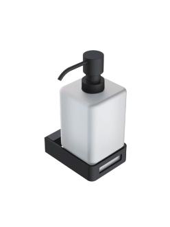 Boheme Q 10957-B Диспенсер для мыла настенный (черный)