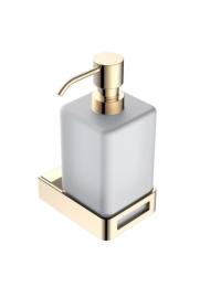 Boheme Q 10957-G Диспенсер для мыла настенный, золото