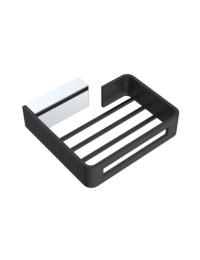 Boheme Q 10959-CR-B Держатель для губки, хром/черный
