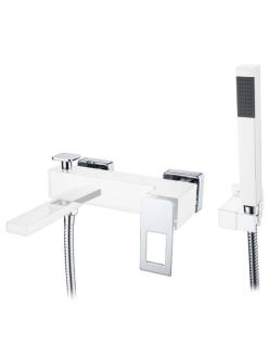 Boheme Q 143-W Смеситель для ванны однорычажный (Белый)