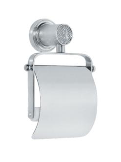 Boheme Royal Crystal 10921-CR Держатель для туалетной бумаги с крышкой (Хром)
