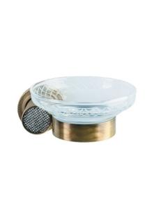 Boheme Royal Crystal 10923-BR Мыльница настенная