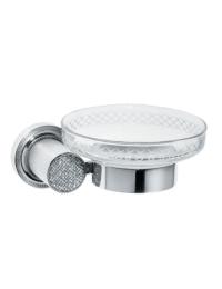 Boheme Royal Crystal 10923-CR Мыльница настенная
