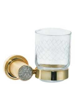 Boheme Royal Crystal 10924-G Стакан для зубных щеток (Золото)