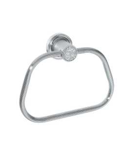 Boheme Royal Crystal 10925-CR Держатель для полотенца кольцо (Хром)