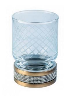 Boheme Royal Crystal 10931-BR Стакан для зубных щеток (Бронза)