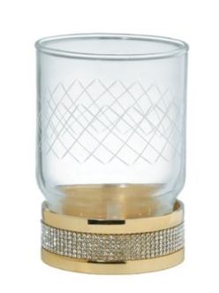 Boheme Royal Crystal 10931-G Стакан для зубных щеток (Золото)