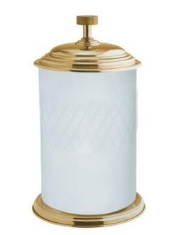 Boheme Royal Crystal 10934-G Ведро для мусора (Золото)