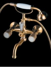 Boheme Royal Crystal 313-CRST Смеситель для ванны, душевой комплект
