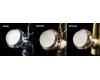Смеситель для раковины на 3 отверстия Boheme Satine 317-ST Бронза