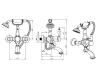 Boheme Crystal 263-CRST Смеситель для ванны с ручным душем (Хром)