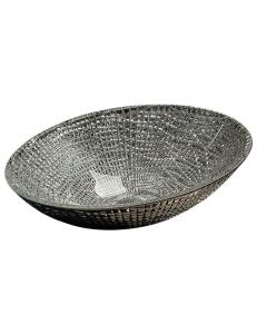 Boheme 815 Раковина накладная, серебро