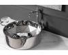 Boheme 865 Раковина накладная (серебро)