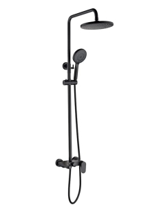 Boheme Spectre 458-B Душевая стойка со смесителем черный