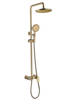 Boheme Spectre 458-Bronze Душевая стойка со смесителем (Бронза)