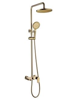 Boheme Spectre 458-G Душевая стойка со смесителем (Золото)
