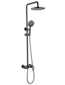 Boheme Spectre 458-GM Душевая стойка со смесителем темно-серый