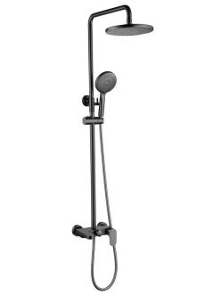 Boheme Spectre 458-GM Душевая стойка со смесителем (Темно-серый)
