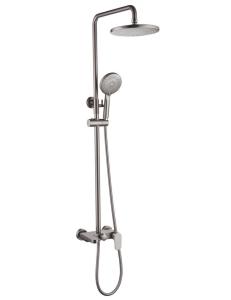 Boheme Spectre 458-NB Душевая стойка со смесителем никель