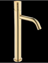 Boheme Stick 122-G Смеситель для умывальника высокий, золото
