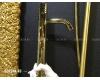 Boheme Stick 122-G Смеситель для умывальника высокий (Золото)