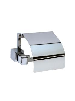Boheme Venturo 10301 Держатель для туалетной бумаги с крышкой (Хром)