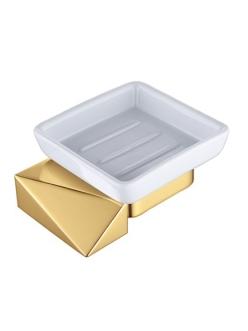 Boheme Venturo 10313-G Мыльница настенная (Золото)
