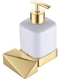 Boheme Venturo 10317-G Диспенсер для мыла настенный, золото