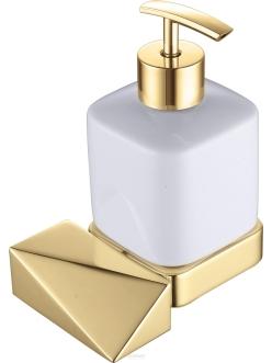 Boheme Venturo 10317-G Диспенсер для мыла настенный (Золото)