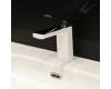 Boheme Venturo 371-W Смеситель для умывальника однорычажный (белый/хром)