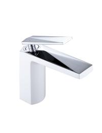 Boheme Venturo 371-W Смеситель для умывальника белый/хром