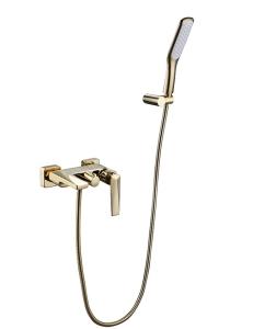 Boheme Venturo 383-W Смеситель для ванны  с душ. гарнитуром, белый/золото