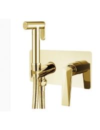Boheme Venturo 387 Гигиенический душ со смесителем, золото