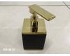 Boheme 10969-B-G Диспенсер для мыла настольный (черный/золото)