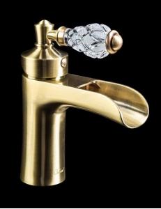 Boheme Vogue Crystal Bronze 201-CRST Смеситель для умывальника
