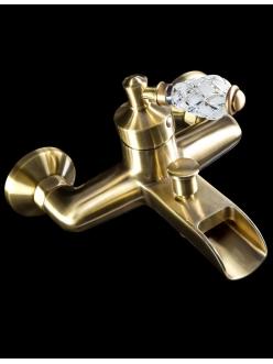 Boheme Vogue Crystal 203-CRST Смеситель для ванны однорычажный (Бронза)