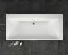 Bretto Arno 180х80 Прямоугольная ванна из гелькоута с каркасом и экраном