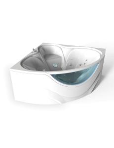 Bretto Saspiri 150х150 ванна угловая в комплекте с каркасом и экраном