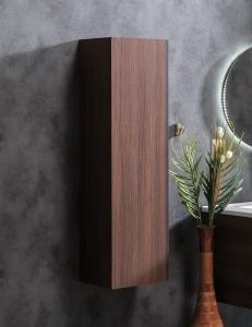 Capolda 35 Dark Wood – Пенал для ванной подвесной, 120 см