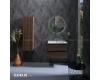 Armadi Art CAPOLDA Dark Wood – Подвесной пенал для ванной