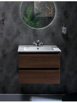 Armadi Art CAPOLDA 65 Dark Wood – Тумба с керамической раковиной