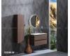 Armadi Art CAPOLDA 85 Dark Wood – Тумба с керамической раковиной