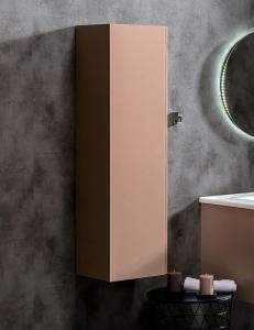 Capolda 35 Latte – Пенал для ванной подвесной, 120 см