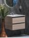 Capolda  65 Light Wood – Тумба с керамической раковиной
